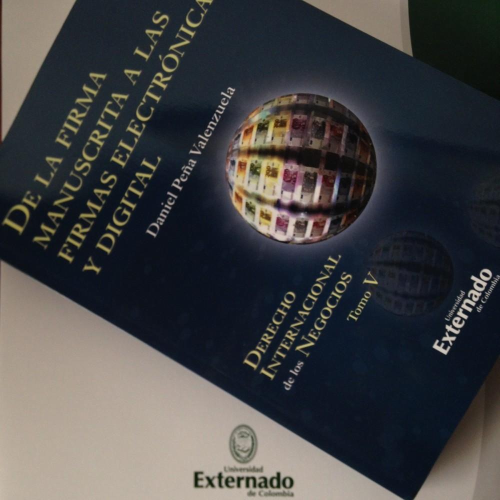 libro firma electrónica